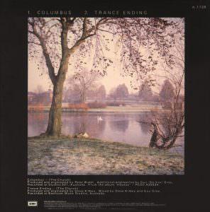"""7"""" EMI Parlophone A-1728 (Australia), March 1986 [Back]"""