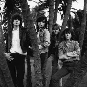 L-R: Peter Koppes, Marty Willson-Piper, Richard Ploog, Steve Kilbey, 1985 (Photo: Wendy McDougall)