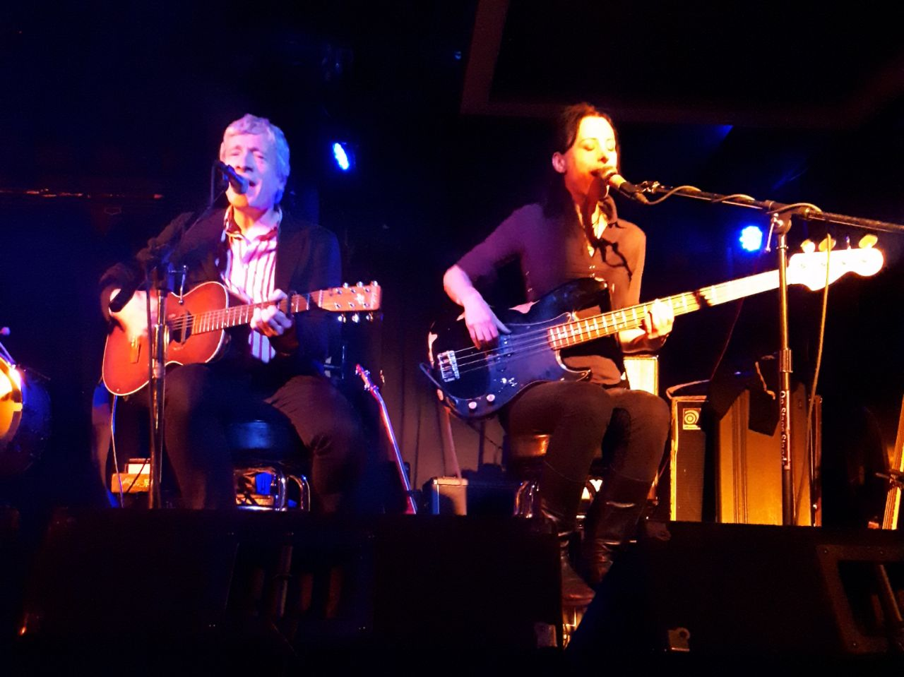 Don Piper and Hannah Moorhead at the Highline, Seattle - Photo: Sophie Beck