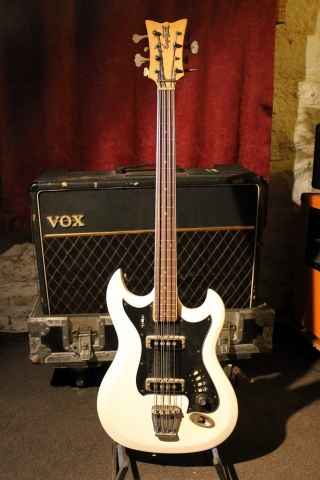 Hagström 8-String Bass 8 730068 (White)