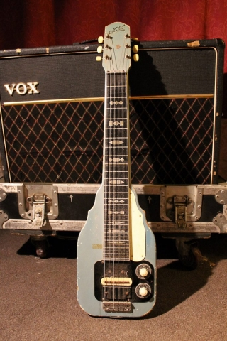 Maton Lap Steel (Blue)