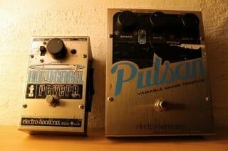 Electro-Harmonix Holygrail Reverb & Pulsar Tremolo