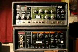 Roland Chorus Echo RE-301 642638 & Roland Chorus Echo RE-501 146082