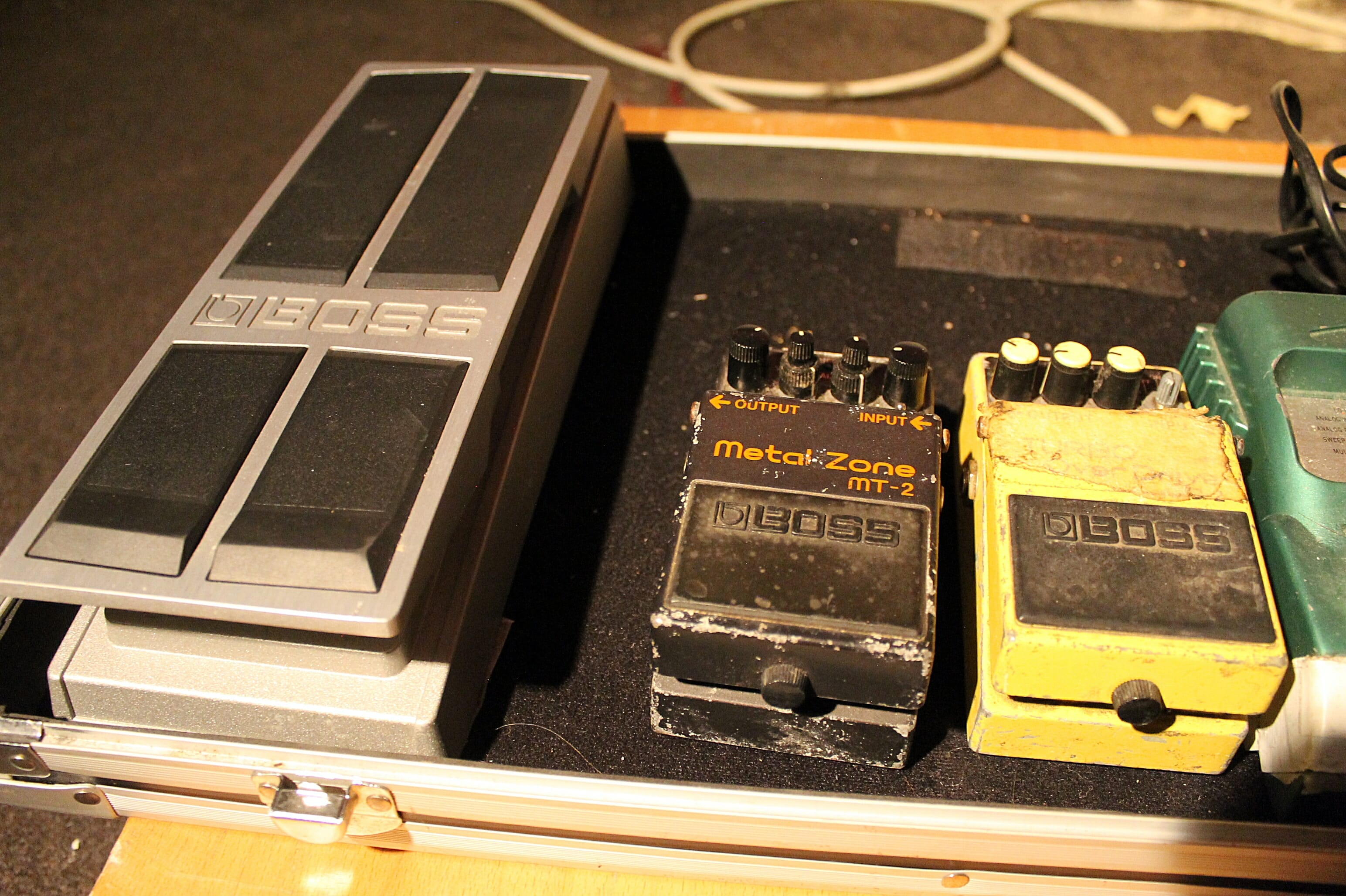 Boss Volume Pedal FV-500H DK3419 & Boss Metal Zone MT-2 & Boss OD3 Distortion