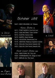 OCTOBER GIGS ANNOUNCED!
