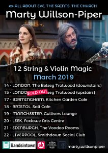 UK Tour March 2019