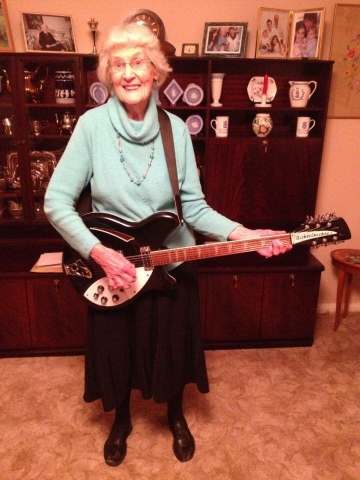 Marty Willson-Piper Rickenbacker Fan Photos
