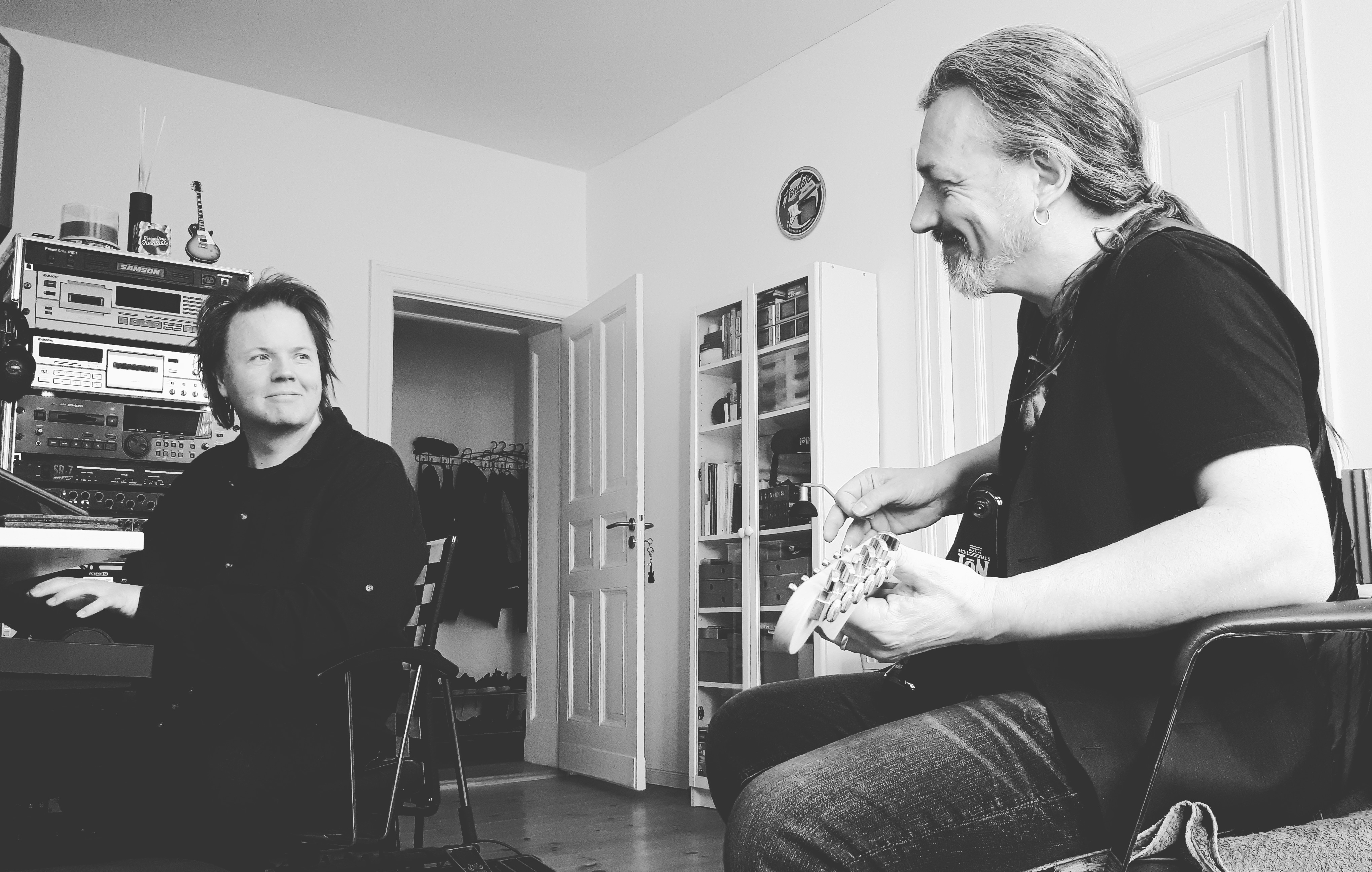 Jerome Froese and Marty Willson-Piper, Berlin 2019