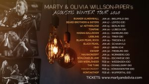 Marty and Olivia Willson-Piper Acoustic Winter Tour 2020